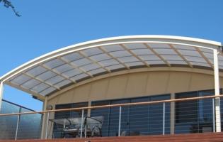 Curve Sunpal Multiwall Verandah