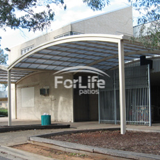 High School - Canteen Shelter area