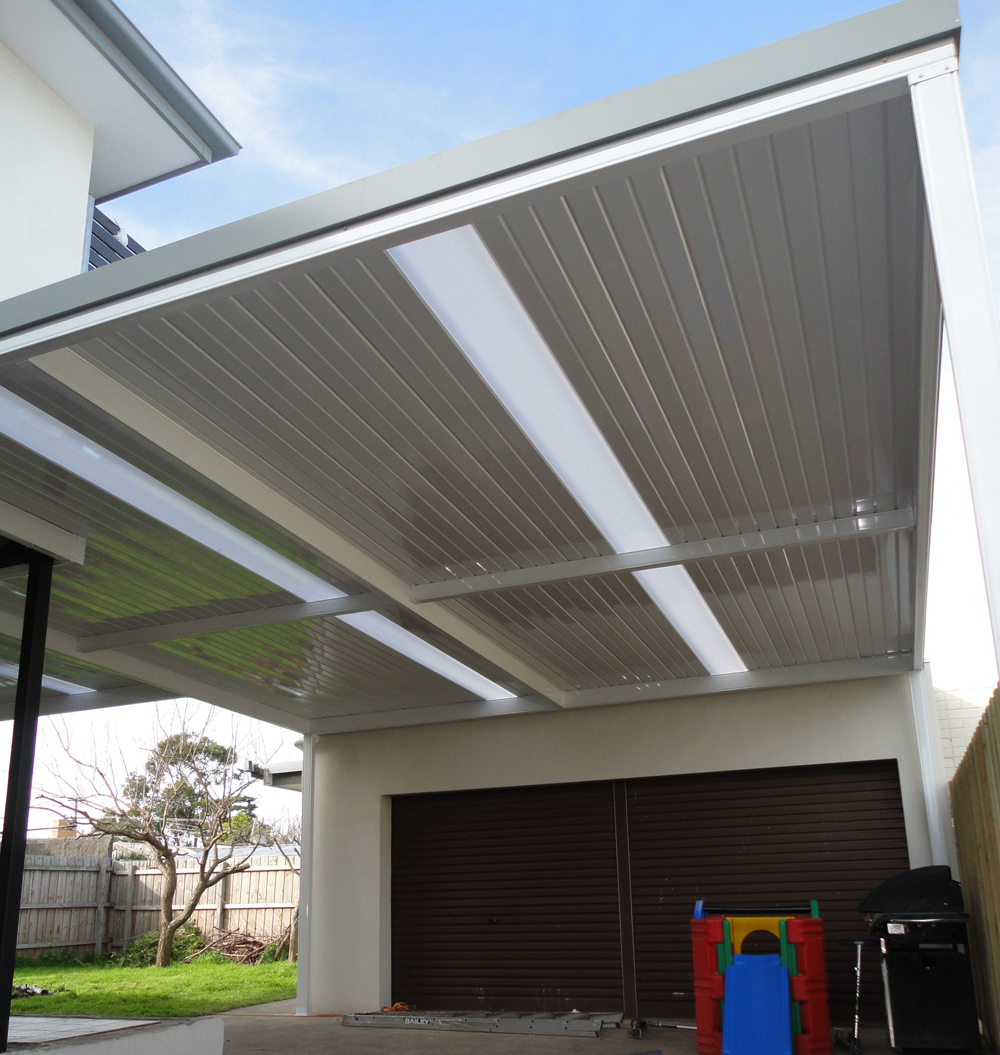 Pitched Patio Roof